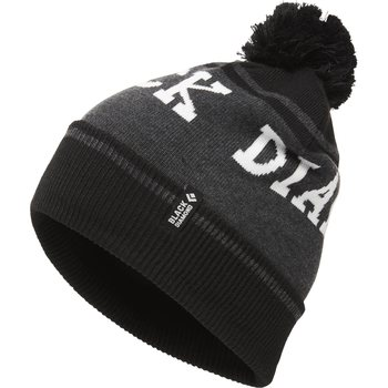 Black Diamond Pom Beanie, Black / Asphalt