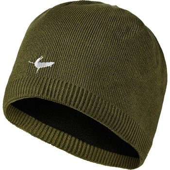 Sealskinz Waterproof Beanie, Olive, L-XL (58-61cm)