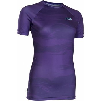 ION Rashguard Women SS, Dark Purple, 36/S