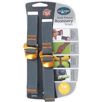 Sea to Summit Tie Down Accessory Straps with Hook 10mm