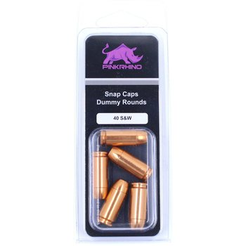 Pink Rhino Dummy Rounds Snap Caps - 40 S&W