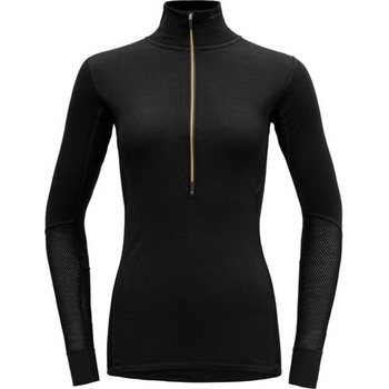 Devold Wool Mesh Woman Half Zip Neck