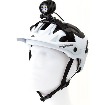 Headlamp and Torch Helmet Mounts