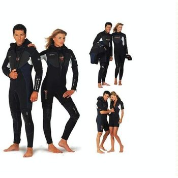 7 - 8 mm diving wetsuits