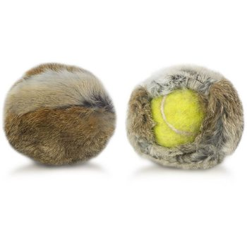 Firedog Rabbit cover for tennis ball
