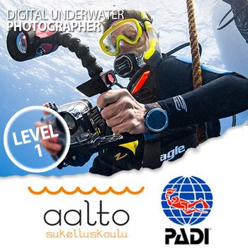 PADI Digital Underwater Photographer - level 1