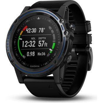 Garmin Descent Mk1 Carbon Gray with black silicone