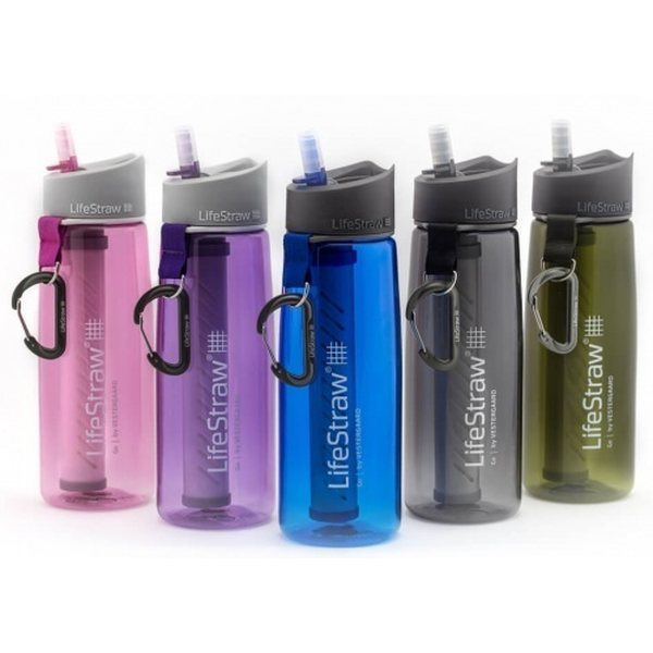 LifeStraw Carbon Capsule Replacement Filter for Go Bottle 2-Stage  Steel