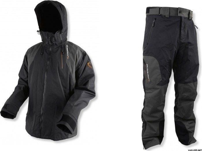 Savage Gear Black Savage Jacket Grey