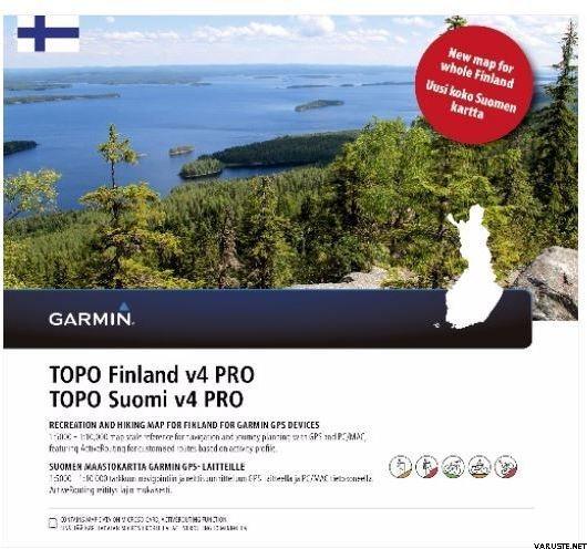 Garmin Topo Finland V4 Pro Micro Sd Electronic Maps